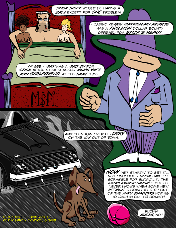 Stick Shift Prologue, Page 4