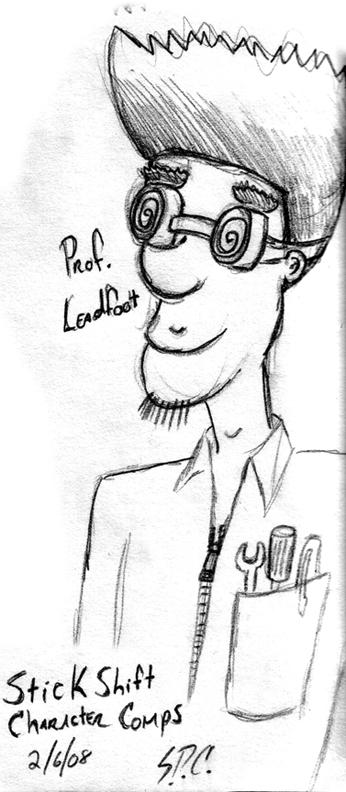 Professor Leadfoot