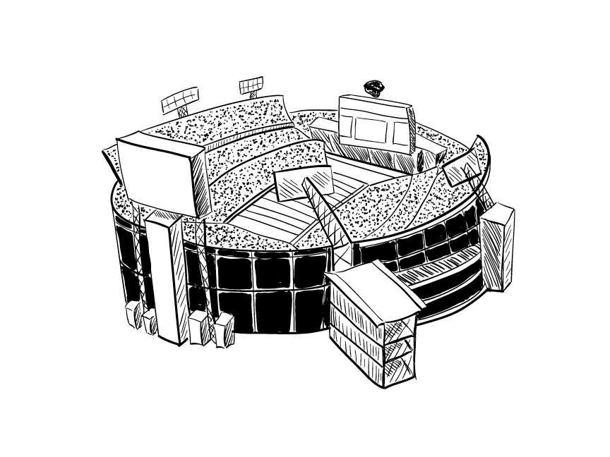 Everbank Field Illustration