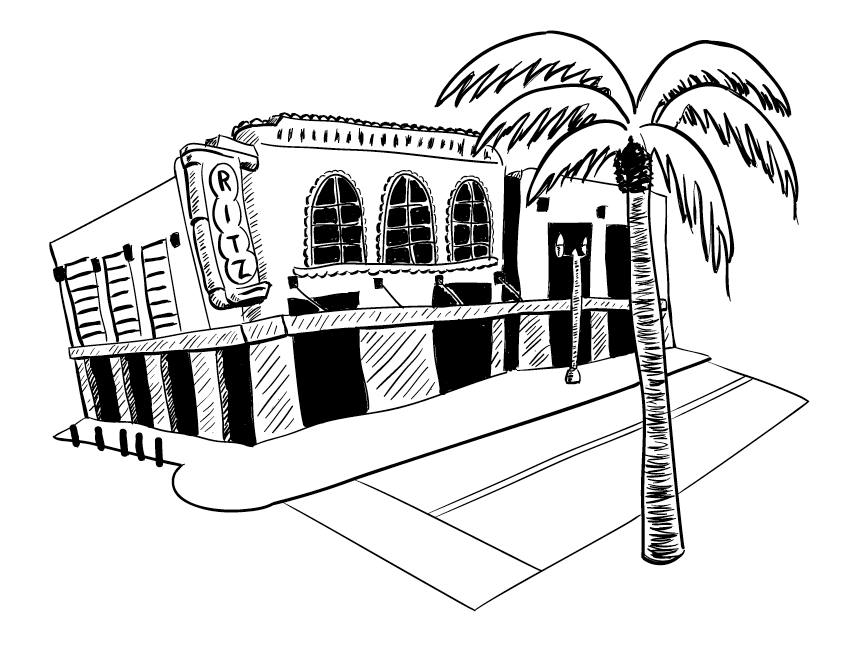 The Ritz Theater and Museum Illustration