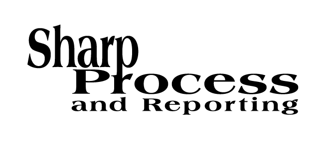 Sharp Process and Reporting Logo