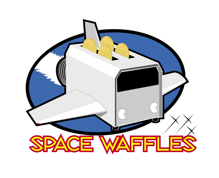 Logo Design for Space Waffles